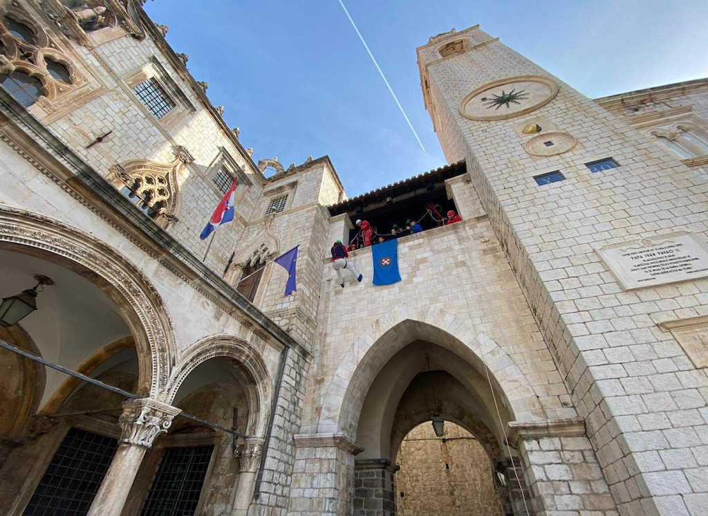 HGSS abseil Dubrovnik 1-min