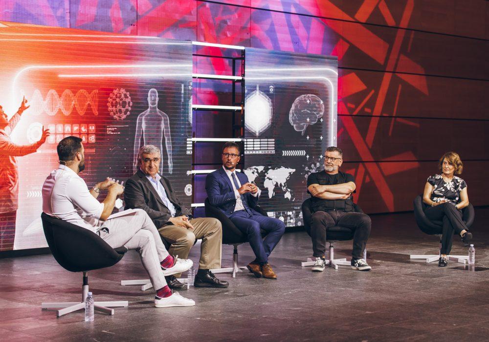 Panel rasprava How Soon is Now_Budućnost medicine_Moderator Ivan Šarić_Mladen Merćep_Marinko Rade_Igor Berecki_Nataša Malić